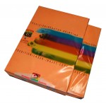 Papel A4 naranja 80 g. Color Plus