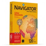 Papel A4 120 g. Navigator Colour Documents