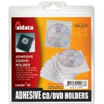 Fundas para CD / DVD adhesivas Aidata (Pack 10)