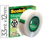Cinta adhesiva invisible Scotch Magic 33 m. x 12 mm.