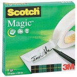 Cinta adhesiva invisible Scotch Magic 66 m. x 19 mm.