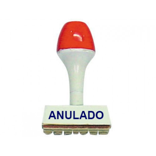 Sello comercial anulado for Sellos de oficina