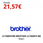 LC1000HYBK BROTHER LC1000HY-BK Negro