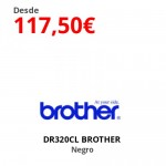 DR320CL BROTHER  Negro