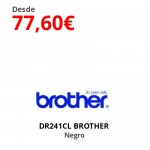 DR241CL BROTHER  Negro